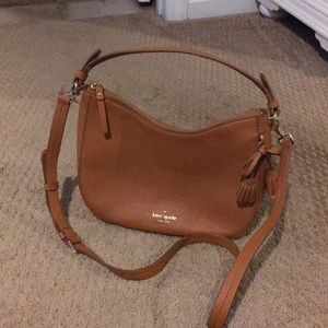 NWOT Kate Spade Small Aiden Hobo Bag, Warm Cognac